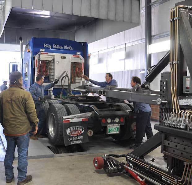 A new type of dyno: Observing your semi with style — and accuracy