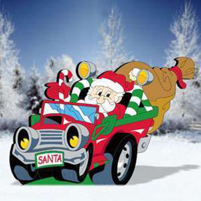 santa-with-truck