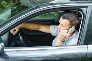 Survey respondents say one of the most irritating behaviors is drivers talking on a cell phone.