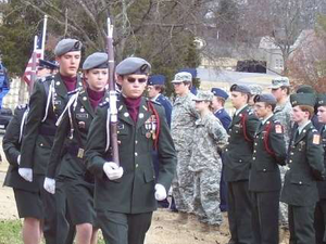 Local ROTC units will participate in the Dec. 14 ceremonies (beginning at 11 a.m.) to lay the wreaths and further Wreaths Across America's educational mission. Find more about similar events all around the nation via the Wreaths Across America website.