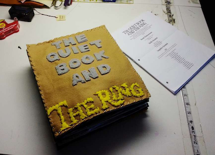 Lord of the Rings quiet book, finished edit