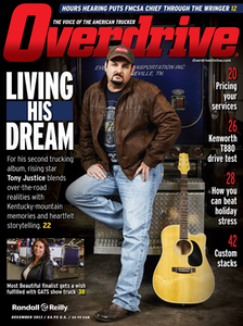 Click through the December 2013 cover image to read our reporting of the story behind driver Tony Justice's new record.