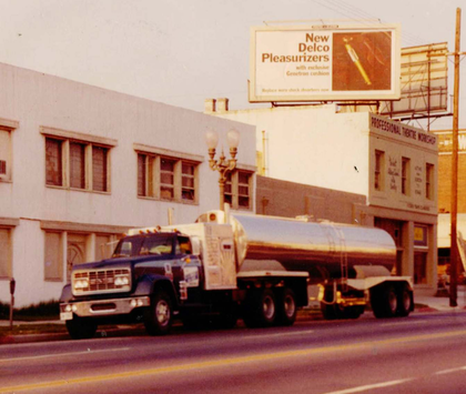 C.O. Bruce Trucking -- classic trucks through the decades