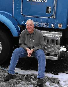 Owner-operator Joe Bielucki