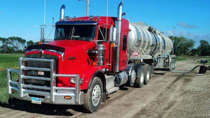 Craig Phenicie here loading crude near Glenburn, Md., KW looking sharp.