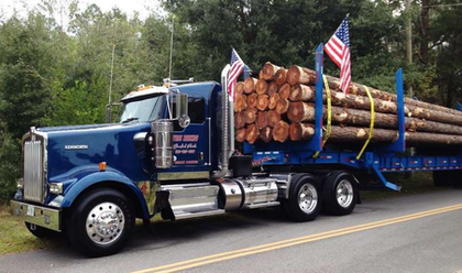 Log-haul 'pride and joy' KW W900