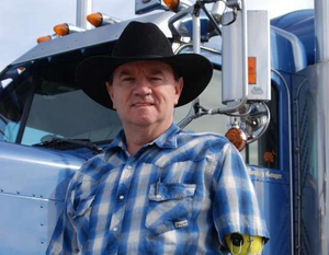 Owner-operator Jimmy Ardis is based in Sumter, S.C.