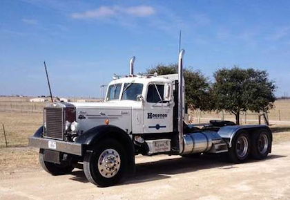 The 1952 Mack as it looks today.