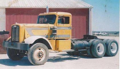 The 1960 Autocar prior to Kraak's restoration-in-long-progress began.