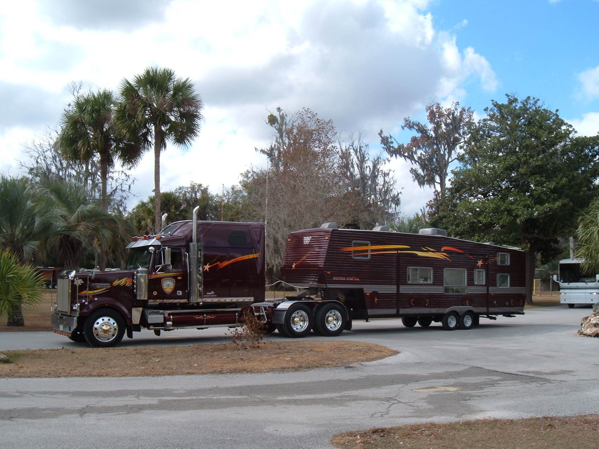 Pay and play: '03 Western Star works in the summer, tours in the winter