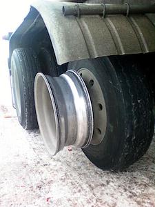 Don Christner lost tire