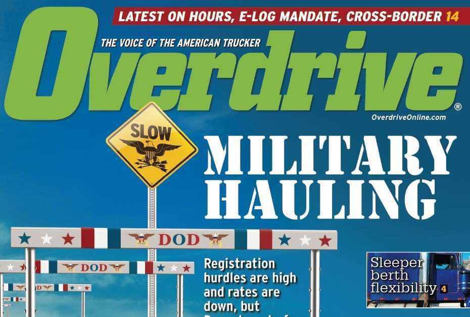Losing ground: The military hauling niche