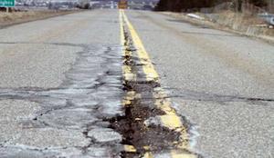 Potholes and Pennsylvania