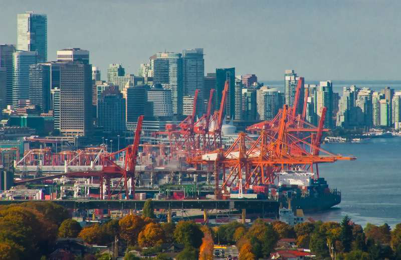 Vancouver port truckers plan shutdown for Feb. 26