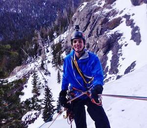 Owner-operator/mountaineer Matt Hopkins | photo by Katie Godwin