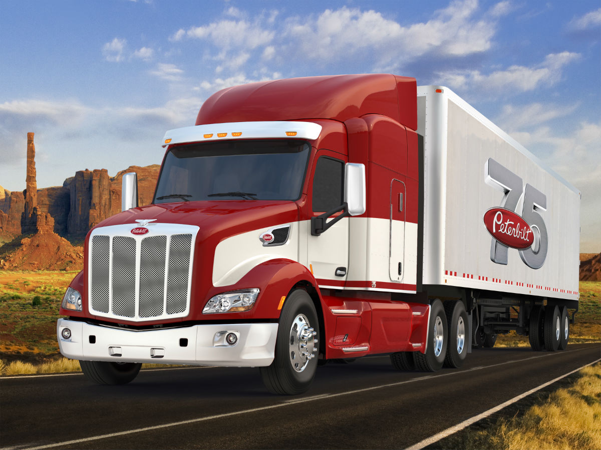 Peterbilt releases 'Epiq' fuel economy package, special edition anniversary truck