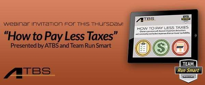ATBS tax-savings webinar 3/6