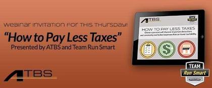 ATBS How to pay less taxes