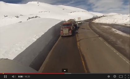 Holy snow-banks! Winter rolling vid over Loveland Pass