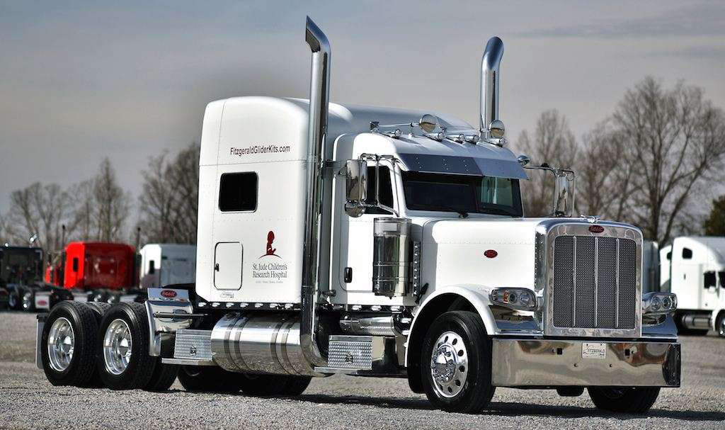 Long Haul Trucking >> Fitzgerald raising money for St. Jude's with glider kit sale | Overdrive - Owner Operators ...