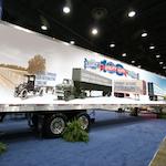 Utility museum trailer
