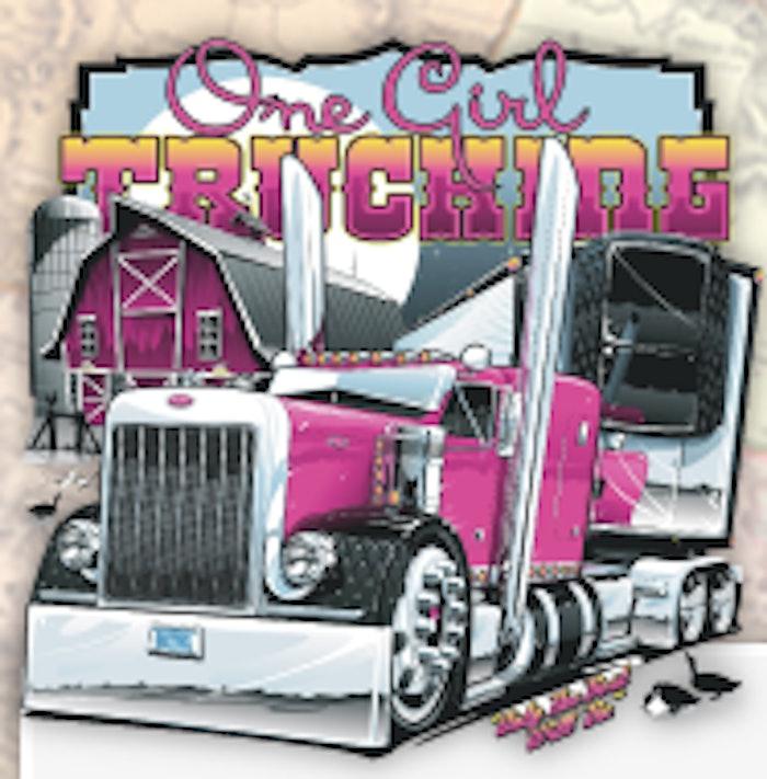 one girl trucking