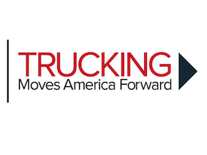 Trucking Moves America Forward campaign aimed at bettering industry, driver image