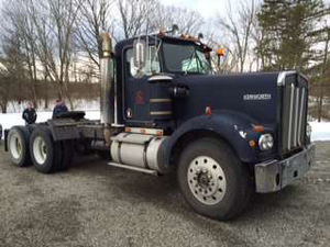 The '78 Kenworth before the work started