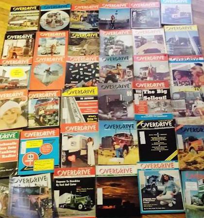 Craig Kilburn 70s Overdrive collection