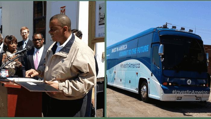 Invest in America bus