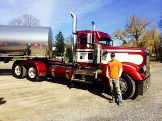New project truck for owner-operator Rick Weisheit: '78 KW
