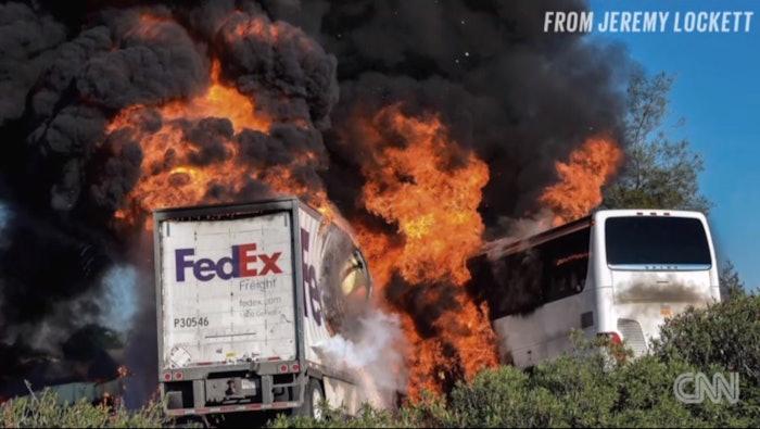 fed ex crash screenshot