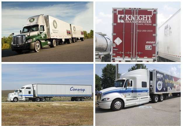Five trucking companies make Forbes' 100 Most Trusted