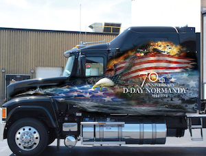 2014 Ride for Freedom truck - Pinnacle AF