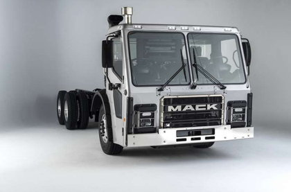 Mack previews waste-haul cabover
