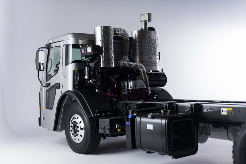 Mack Previews Waste Haul Cabover