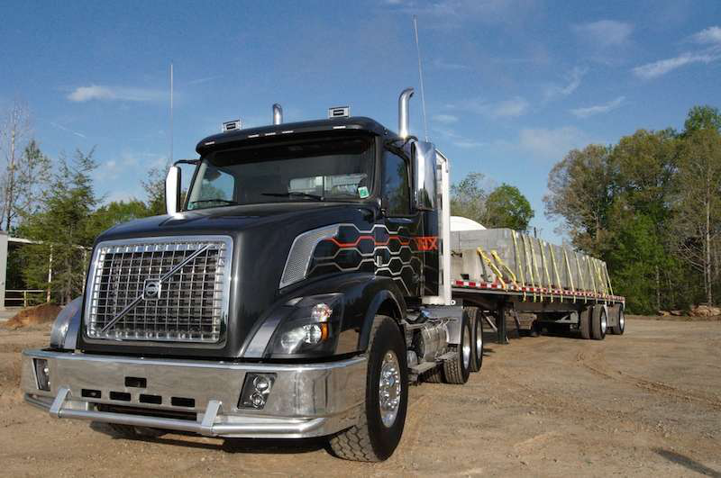 Tough enough: Volvo's VNX easily transitions from on-road to off with I-Shift transmission