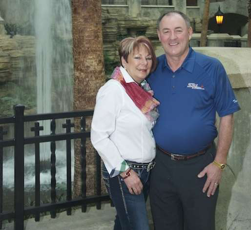 As one of three Owner-Operator of the Year finalists, Terry Smith and his wife Roxanne enjoyed an expense-paid trip to the plush Gaylord Texan, where he won a Ram 2500.