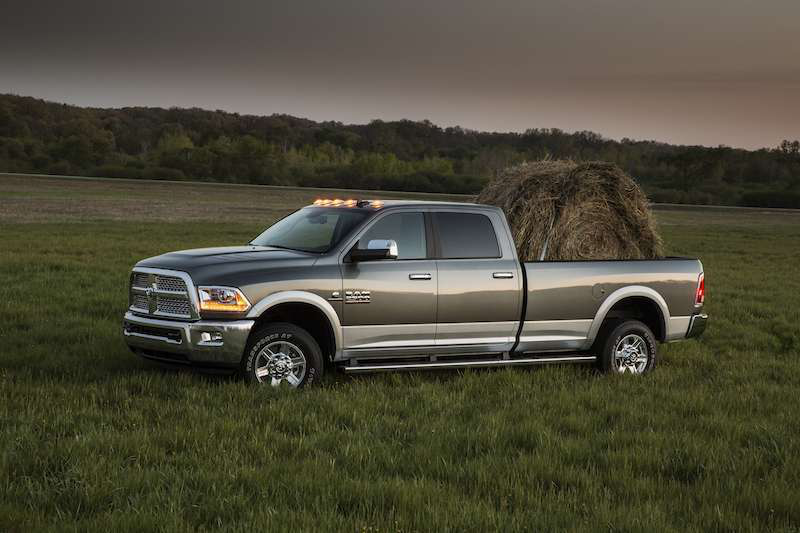 Smith won a 2013 Ram 2500, similar to this model, sponsored by Chevron Delo and Cummins. In addition to the Cummins-powered pickup, he won a year's supply of Delo oil.