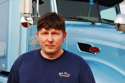 Old Time Express' Mark White: Find pictures of his personal 2006 Peterbilt 386 via this link.