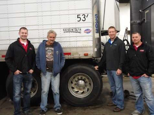 Owner-operator Marvel with Apex/Continental reps