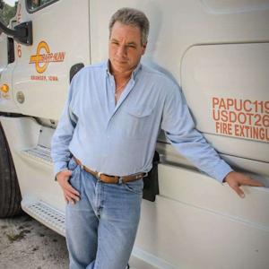 Brad James is a company driver for Barr-Nunn Transportation.