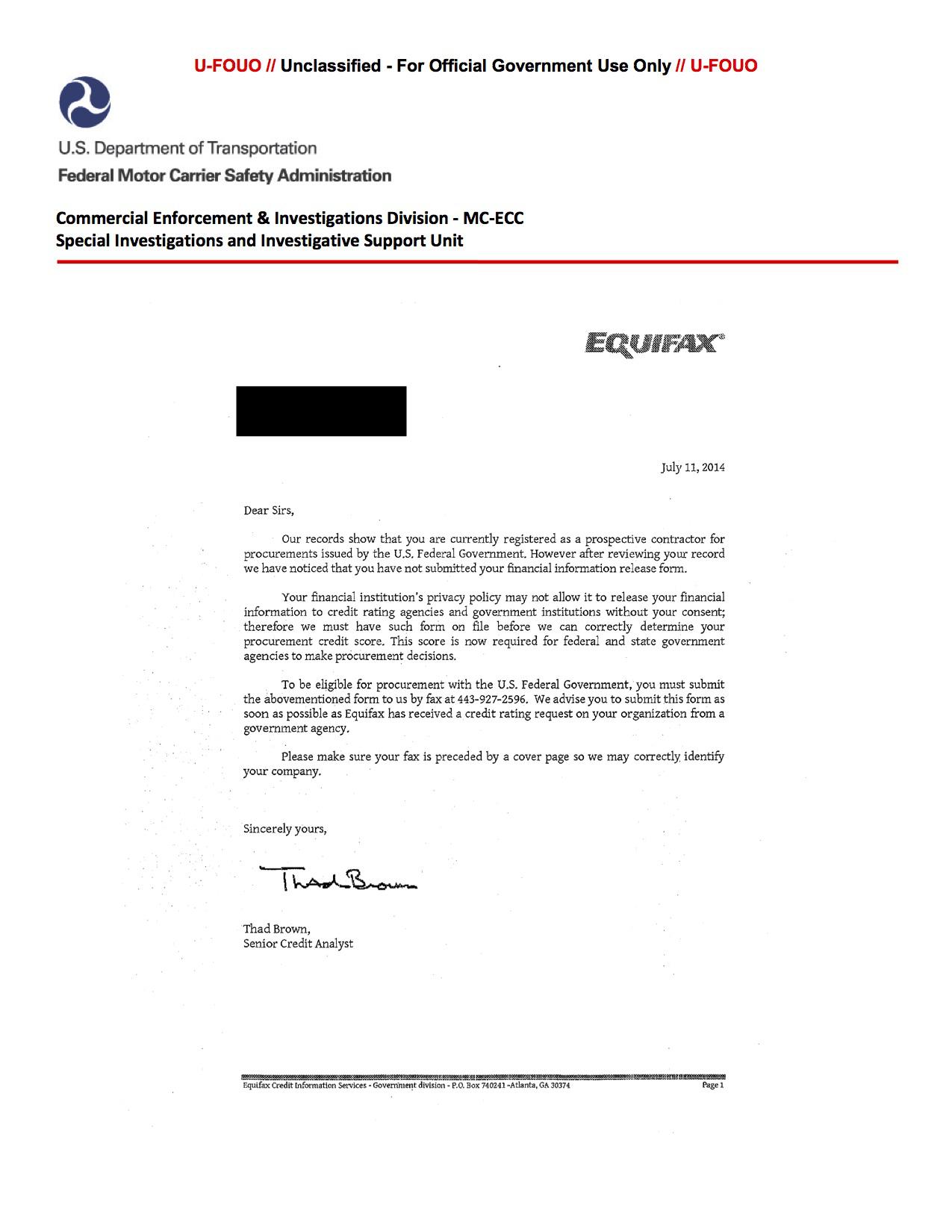 What is fraud alert equifax 1