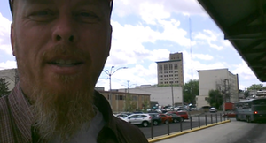 Catch George's vid from the Lima, Ohio, bus station via this link.