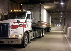 DeMond Lindsey: Lower Wacker Drive in the Loop area of downtown Chicago. This delivery is at the Willis (Sears) Tower.