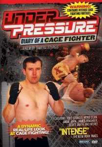 You can pick up a cover of Tamera Sturgis' Under Pressure: Diary of a Cage Fighter's Wife via Amazon here.