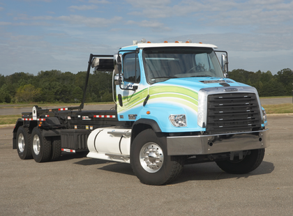 Freightliner making Cummins' nat gas engine available for severe duty truck