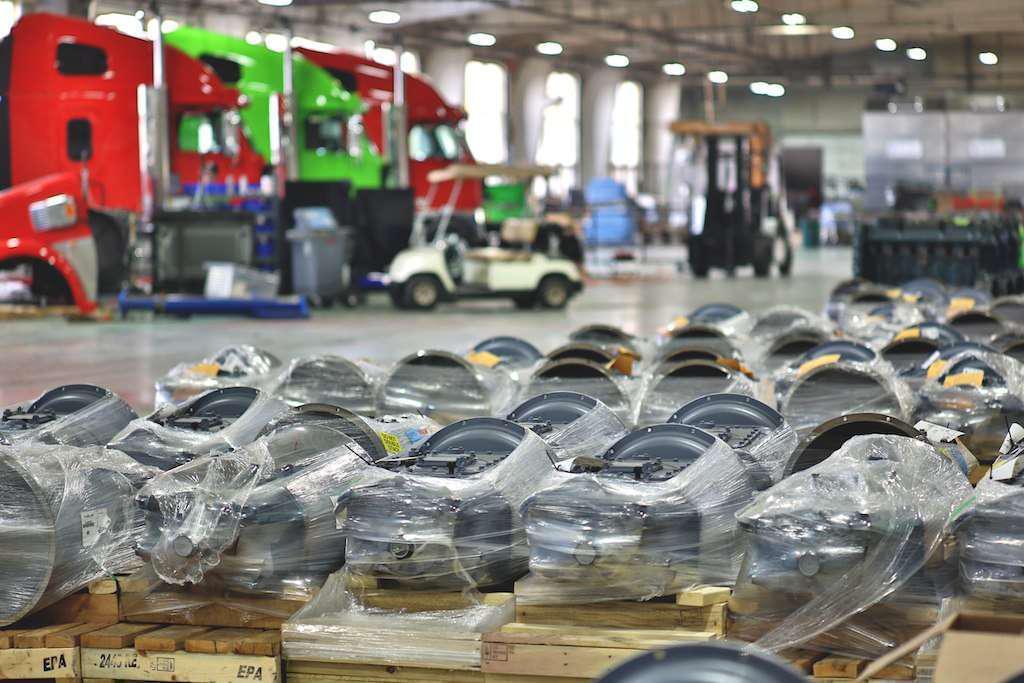 Fitzgerald Glider Kits' Byrdstown, Tenn., factory.