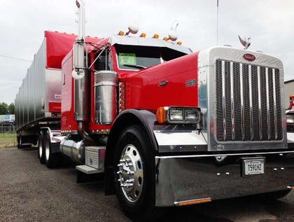 Robb Mariani's 1974 Ford cabover hotrod