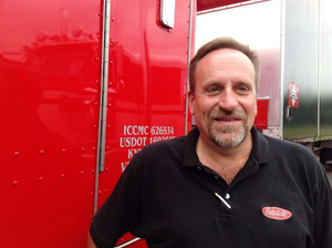 Independent owner-operator Ted Bowers